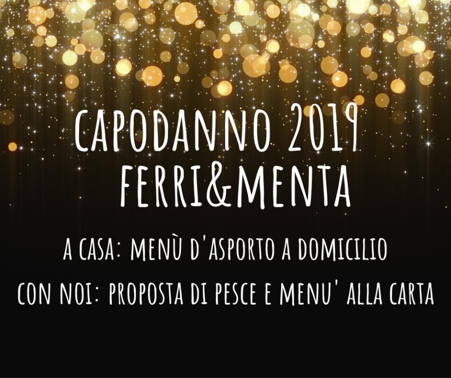 CAPODANNO 2019 CON NOI O A CASA!